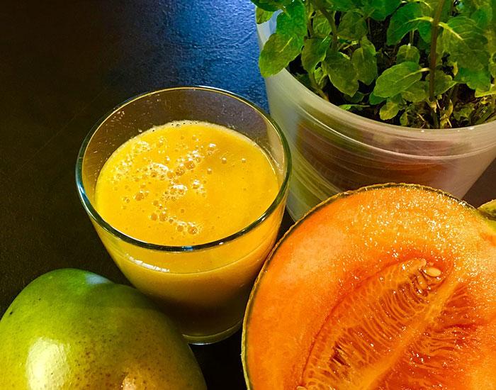 antioxidante, diuretico, depurativo, batido, detox, sano, salud, vivir, mango